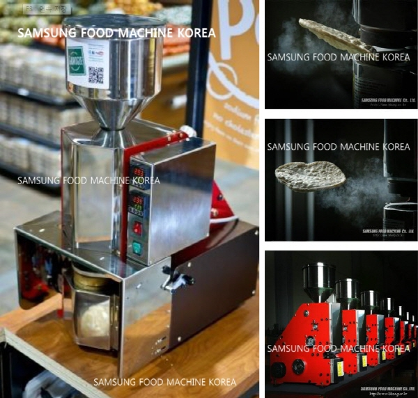 korea wheat pellet popping machine images